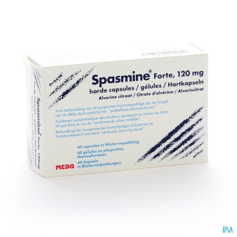 Spasmine Forte Capsule 40 X 120 mg