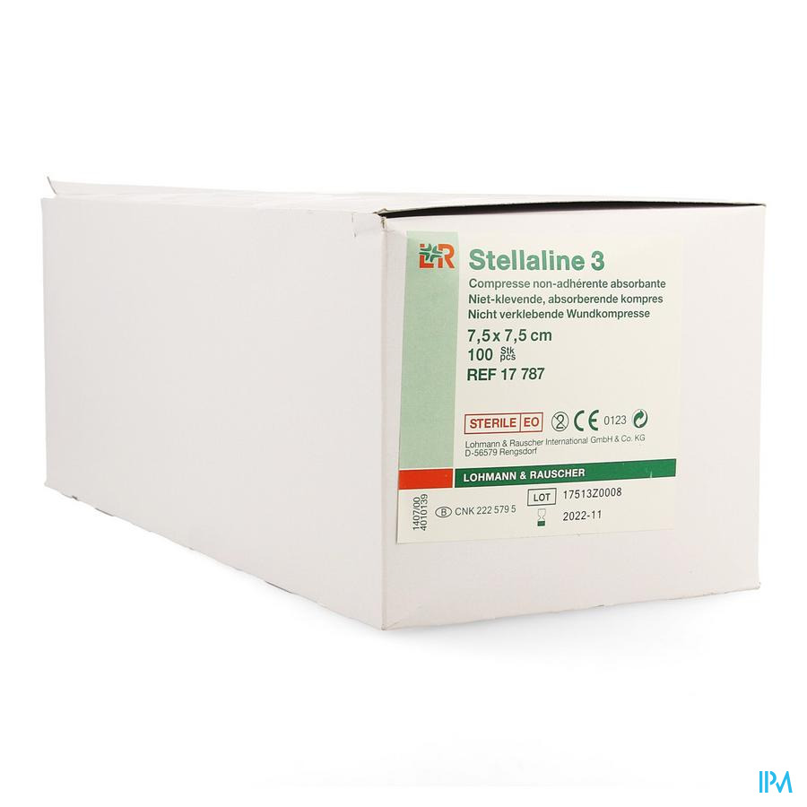 Stellaline 3 Komp Ster 7,5x 7,5cm 100 17787