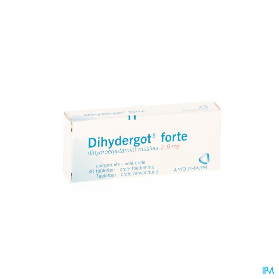 Dihydergot Forte Comp. 30x2,5mg