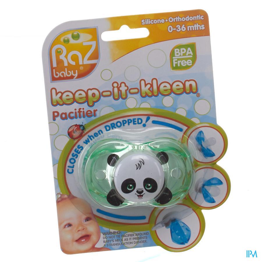 Raz Baby Keep It Clean Fopsp Panky Panda