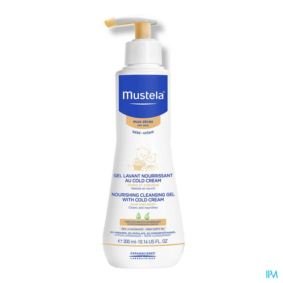 Mustela Ps Voedende Wasgel Cold Creme Lim Ed 500 ml