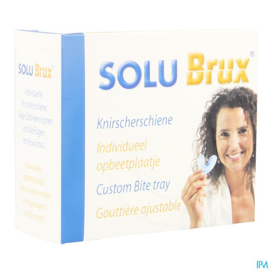 Solu Brux Gouttiere Ajustable Vert