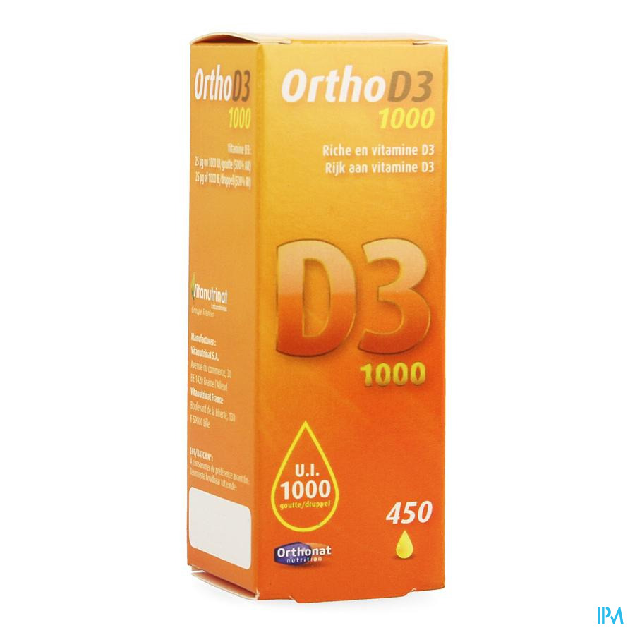 Ortho D3 1000ui 20ml Orthonat