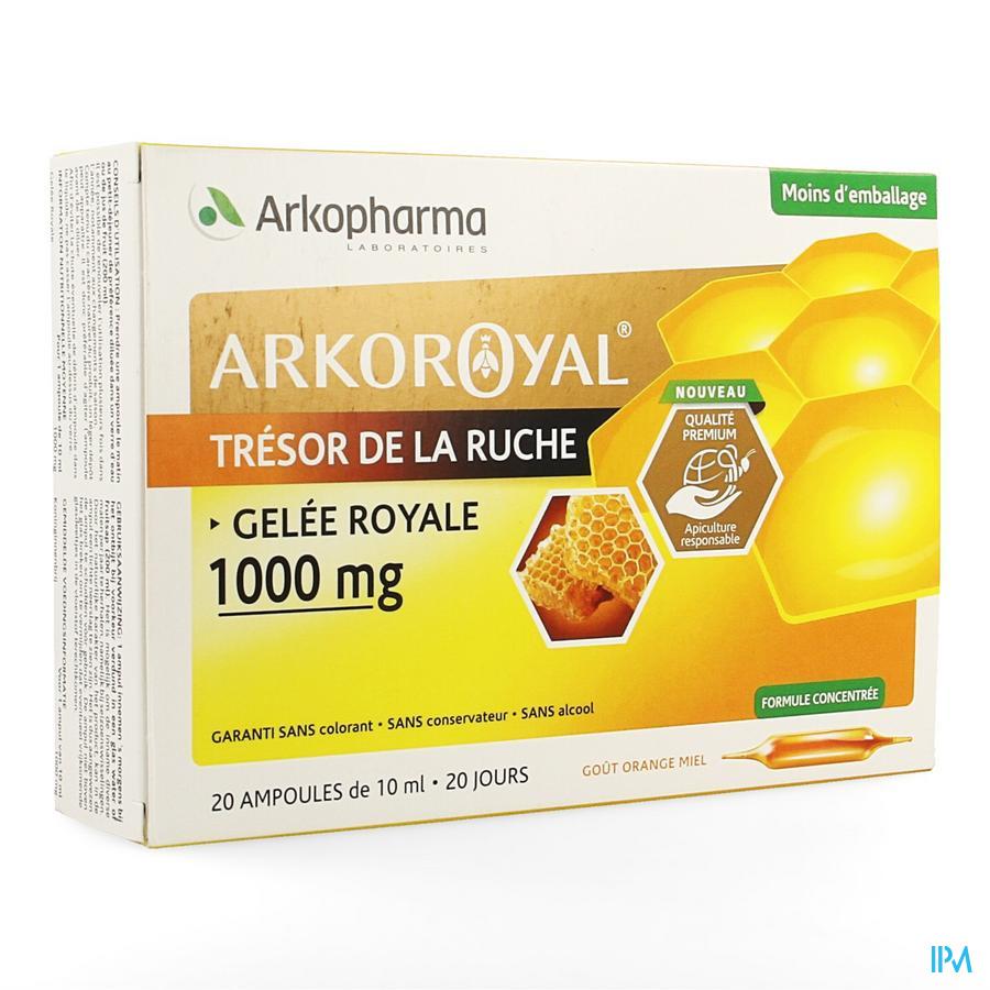 Arkoroyal Koninginnebrij 1000 mg Ampullen 20x10 ml