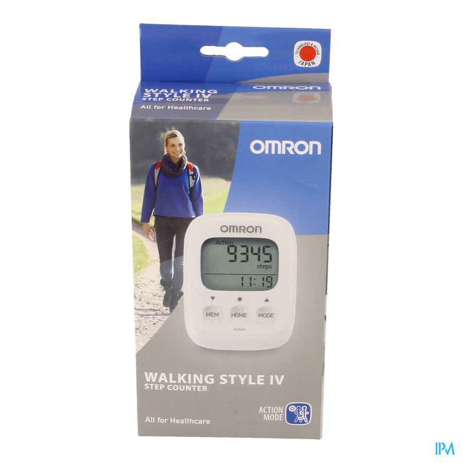 Omron Walking Style Iv Podometre Blanc
