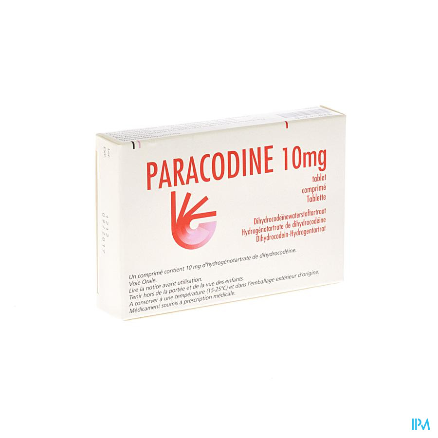 Paracodine Comp. 20x10mg