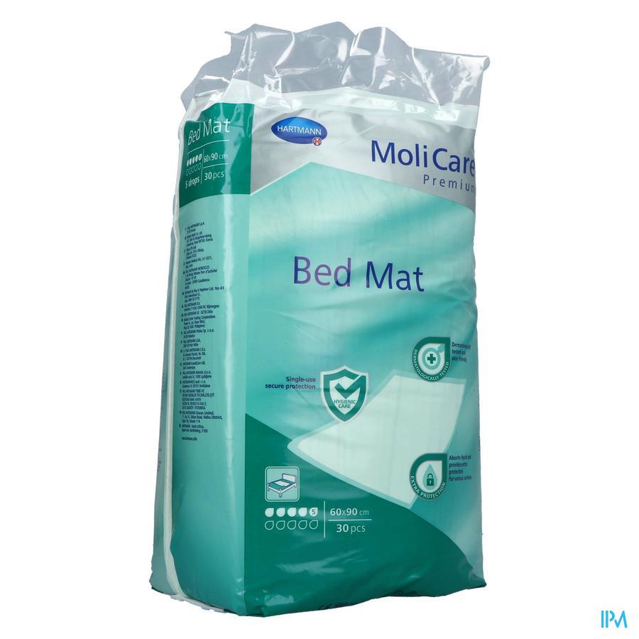 Molicare Pr Bed Mat 5d 60x90 30 P/s