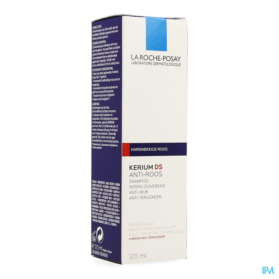 La Roche Posay Kerium Ds Sh Cure Antipell Intensif 125ml
