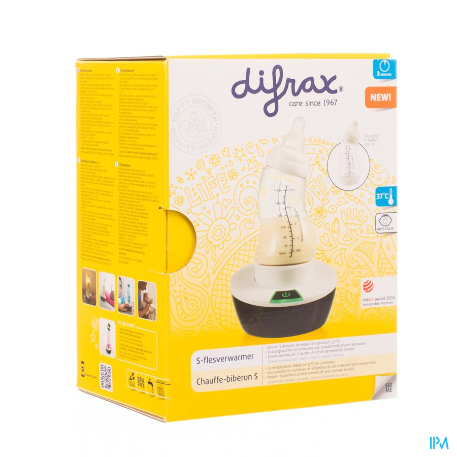 Difrax S Flesverwarmer 630