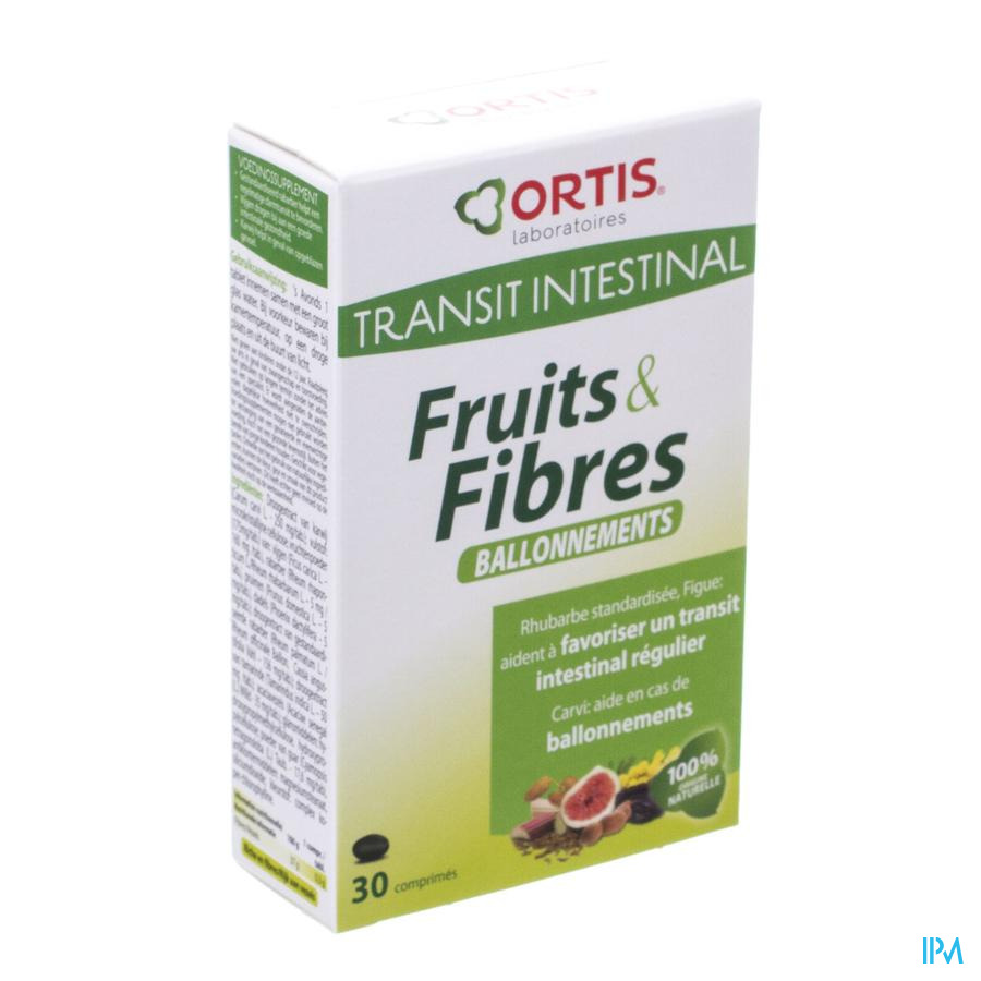 Ortis Fruits & Fibres Ballonnement Tabl 30