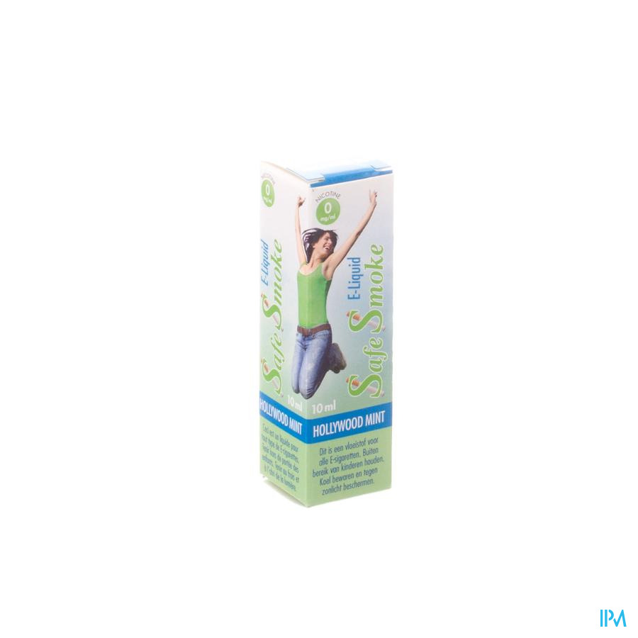 Safe Smoke E-liquid 0mg/ml Nicotine Mint 10ml