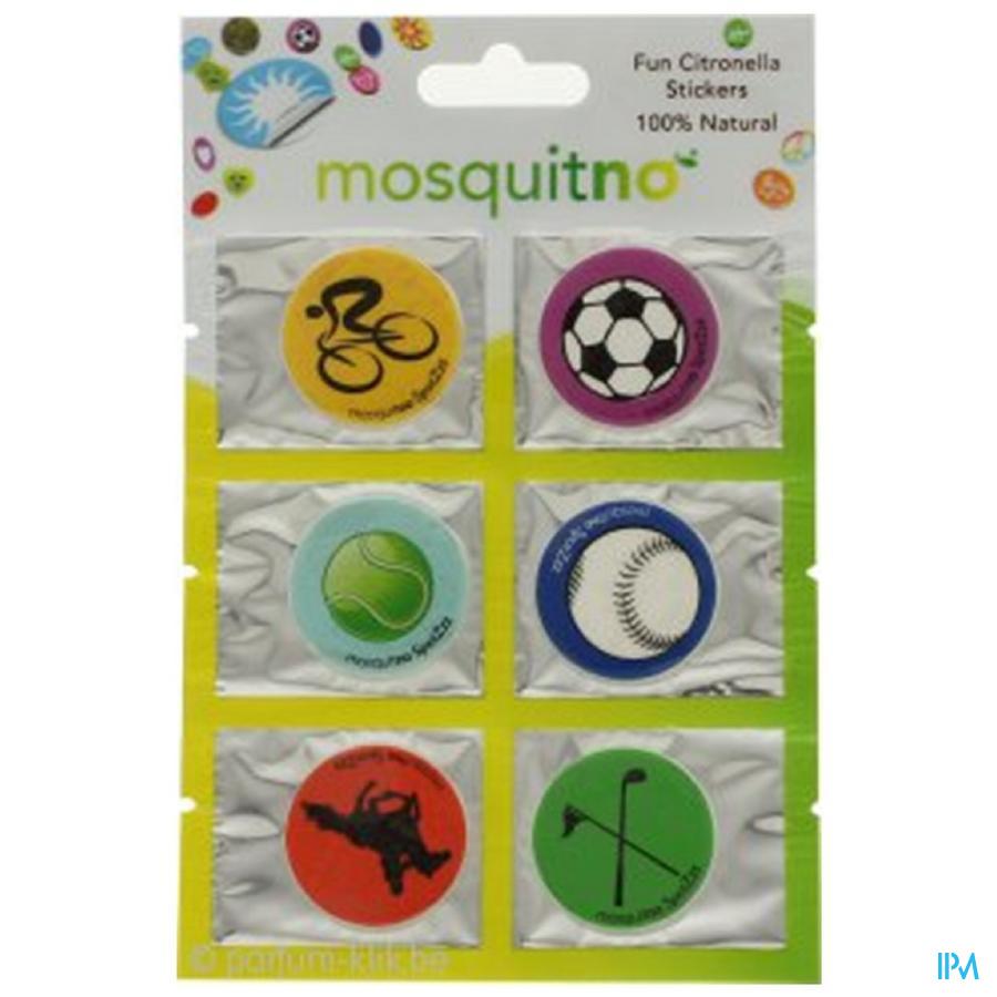 Mosquitno Spotz 6 Citronella Stickers