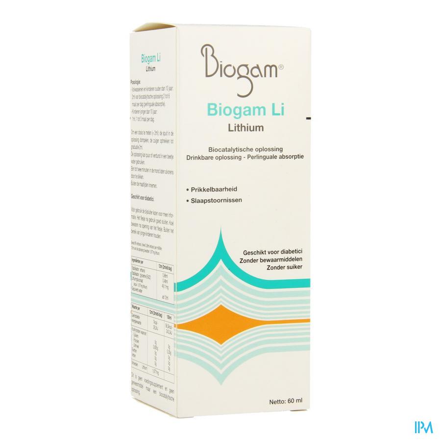 Biogam Li Fl 60ml
