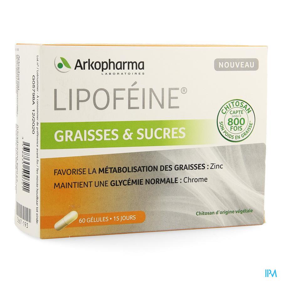 Lipofeine Graisses Sucres Caps 60