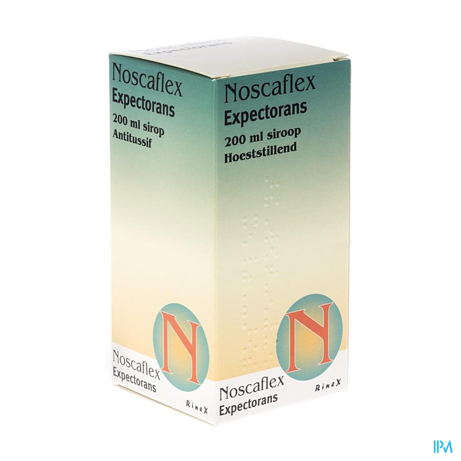 Noscaflex Expectorans Sir. 200ml