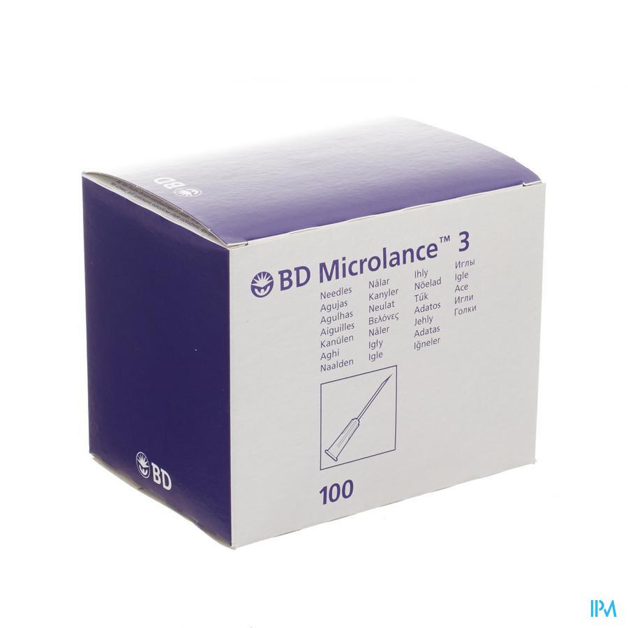 Bd Microlance 3 Naald 22g 1 1/2 Rb 0,7x40mm Zwt100