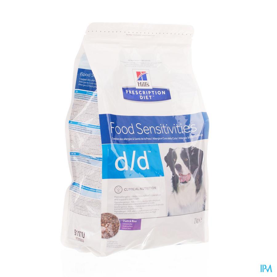Hills Prescrip.diet Canine Dd Duck&rice 5kg 9118r