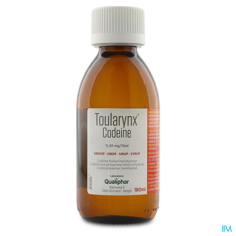 Toularynx Codeine Sir 180ml