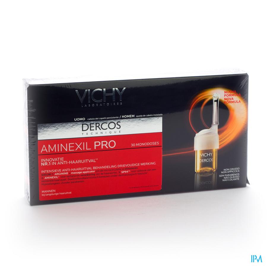 VICHY DERCOS AMINEXIL PRO HOMME AMP 30X6ML