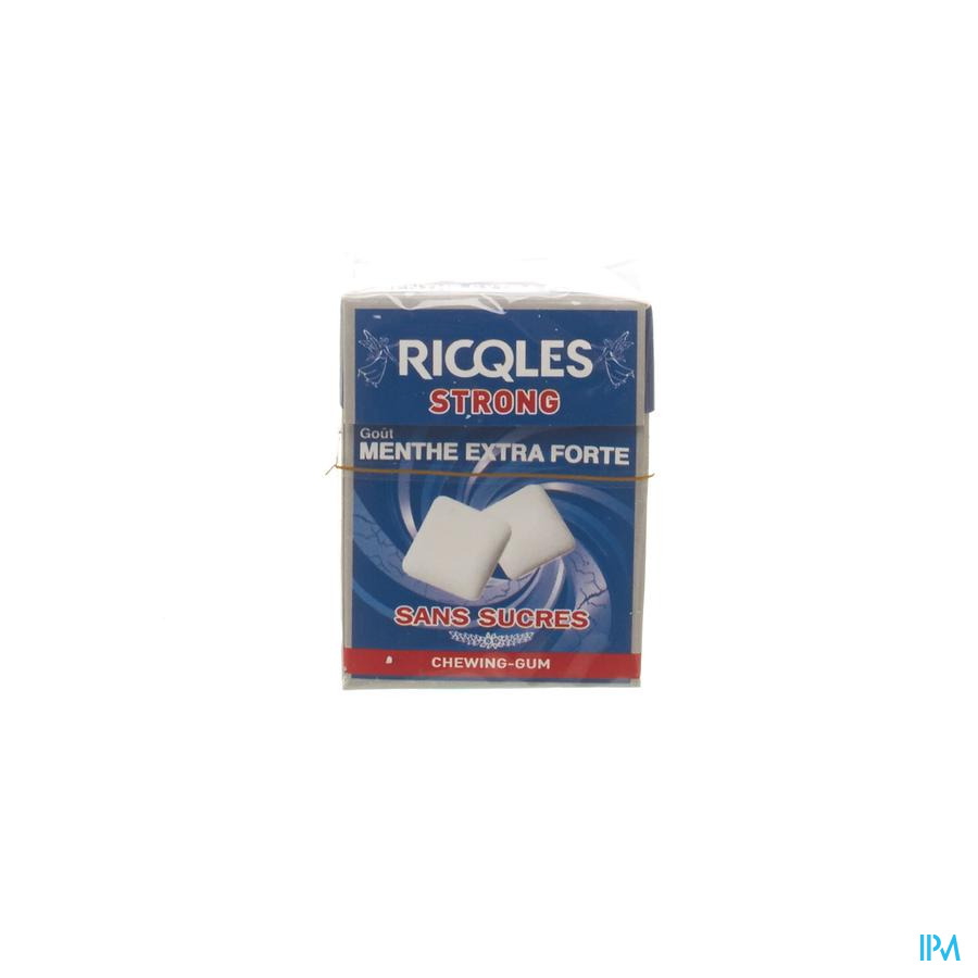 Ricqles Chewing Gum Strong 24g