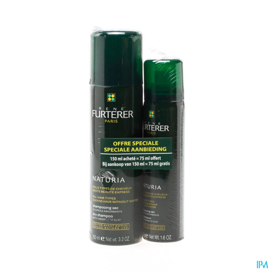 Furterer Naturia Droogshampoo Duo 2x150ml