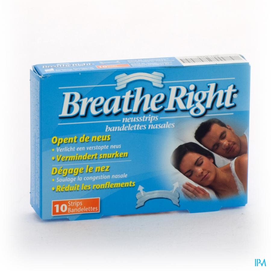 BREATHE RIGHT CLEAR REGULAR 10