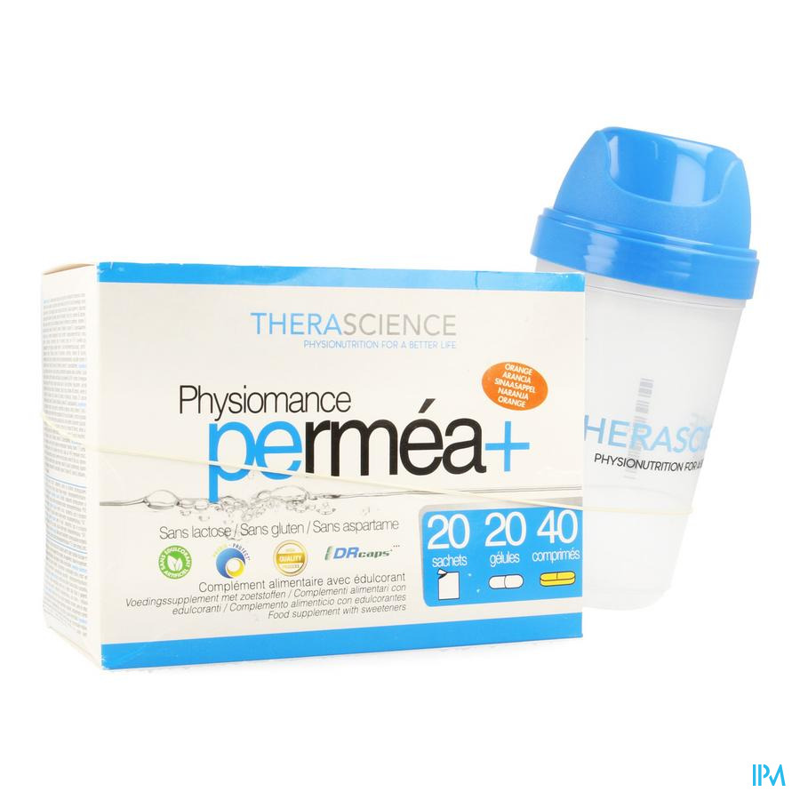 Permea+ 20sach+20sticks+40comp Physiomance Pha138
