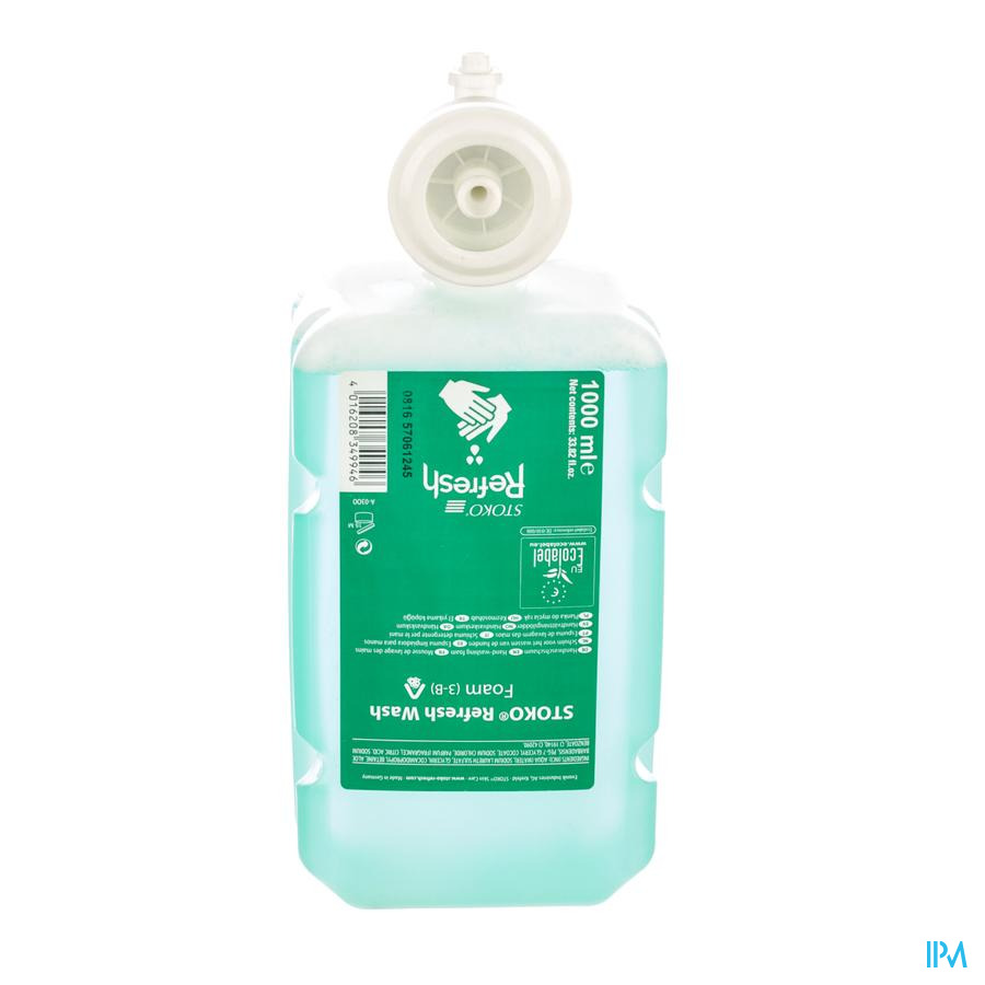 Stoko Refresh Wash Foam 1000ml (3-b)
