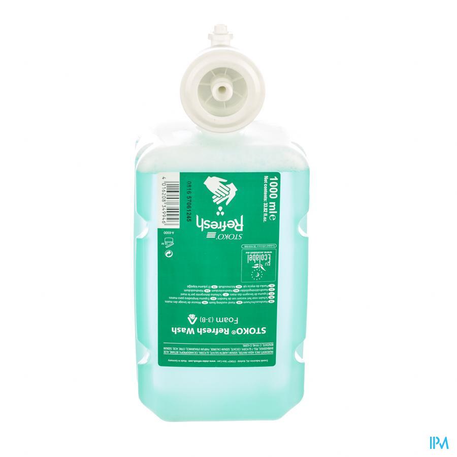 Stoko Refresh Wash Foam 1000ml (3-b)