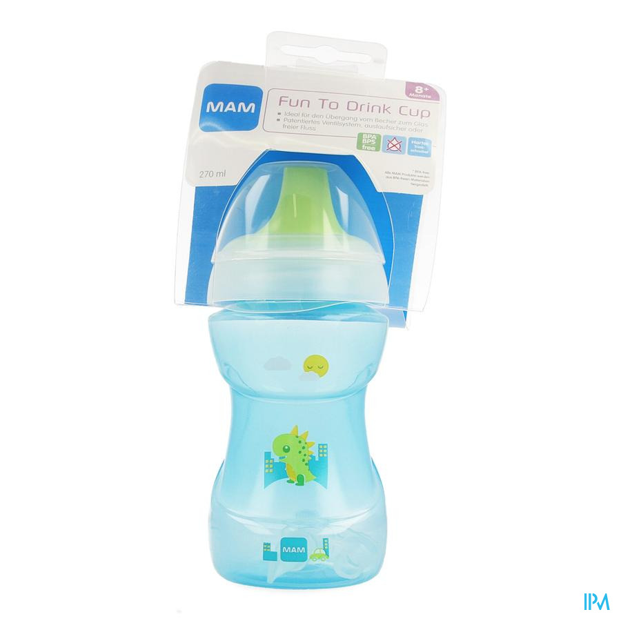 Mam Fun To Drink Cup 270ml Meisje