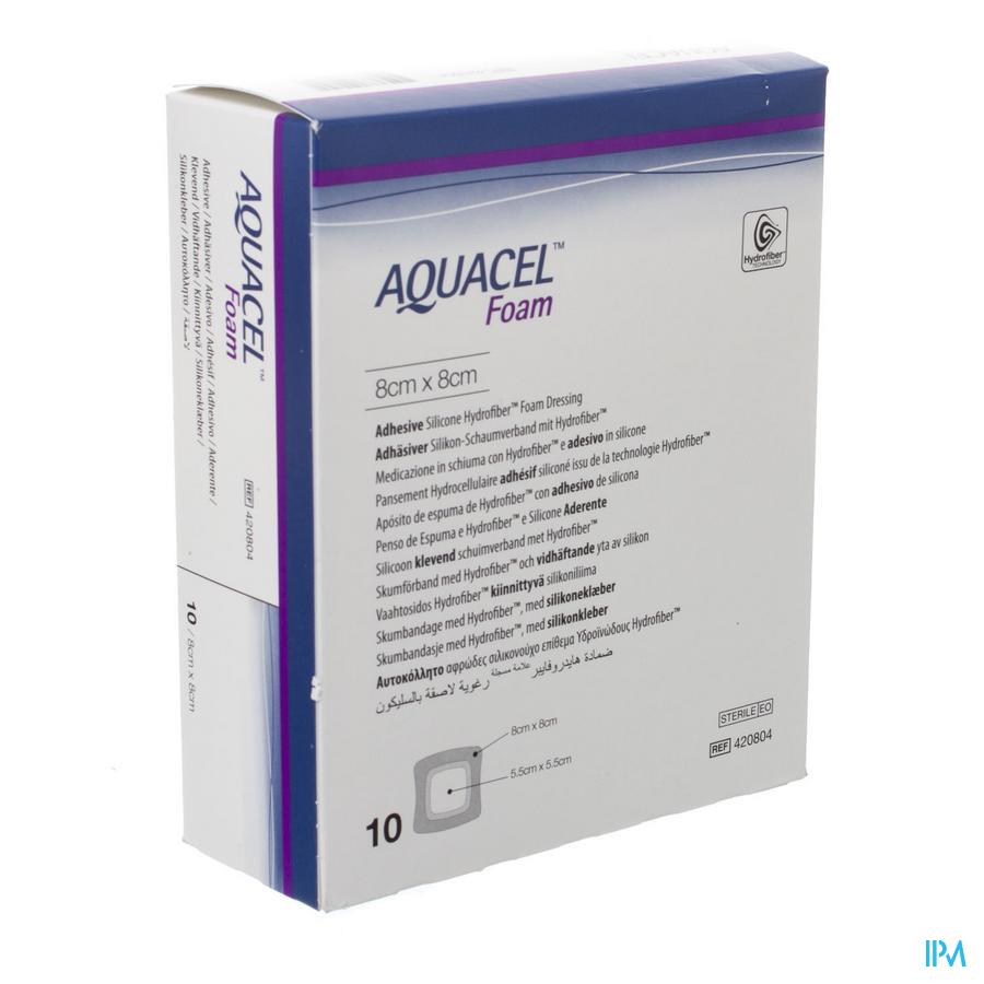 Aquacel Pans Mousse Adh Hydrofiber 21,0x21,0cm 5