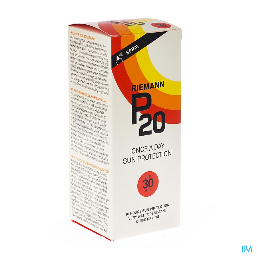 P20 Zonnespray Ip30 200ml