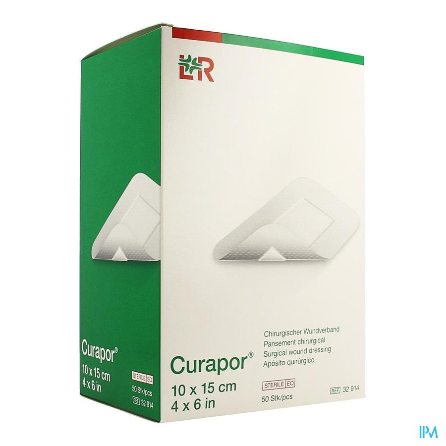 Curapor Verband Chirurg. Steriel 15cmx10cm 50 32914