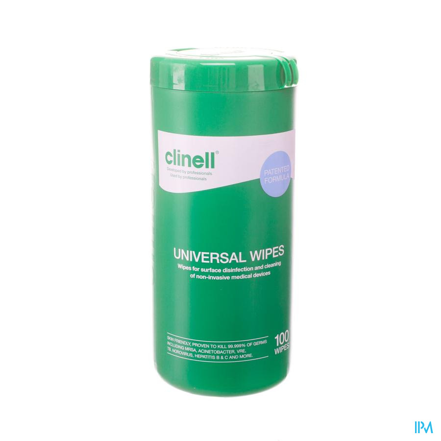 Clinell Universal Wipes Tub 100 St
