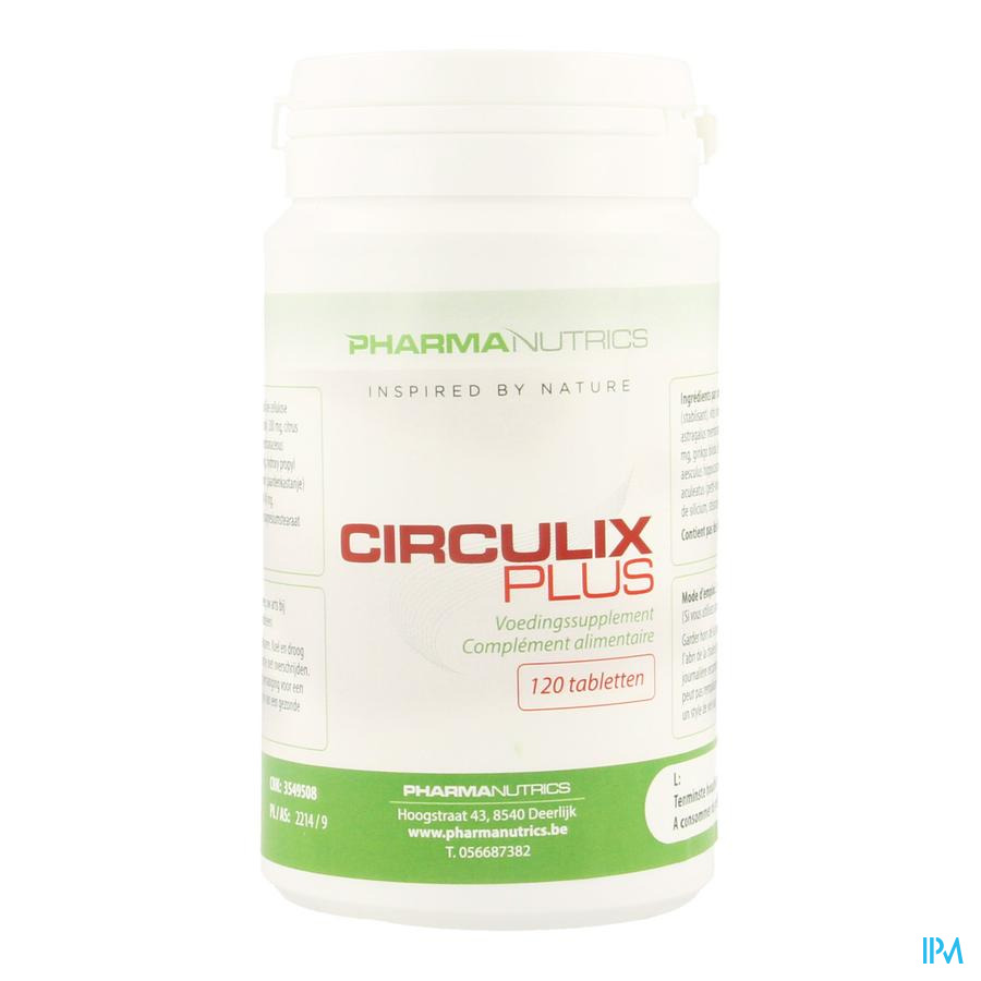 Circulix Plus Comp 120 Pharmanutrics