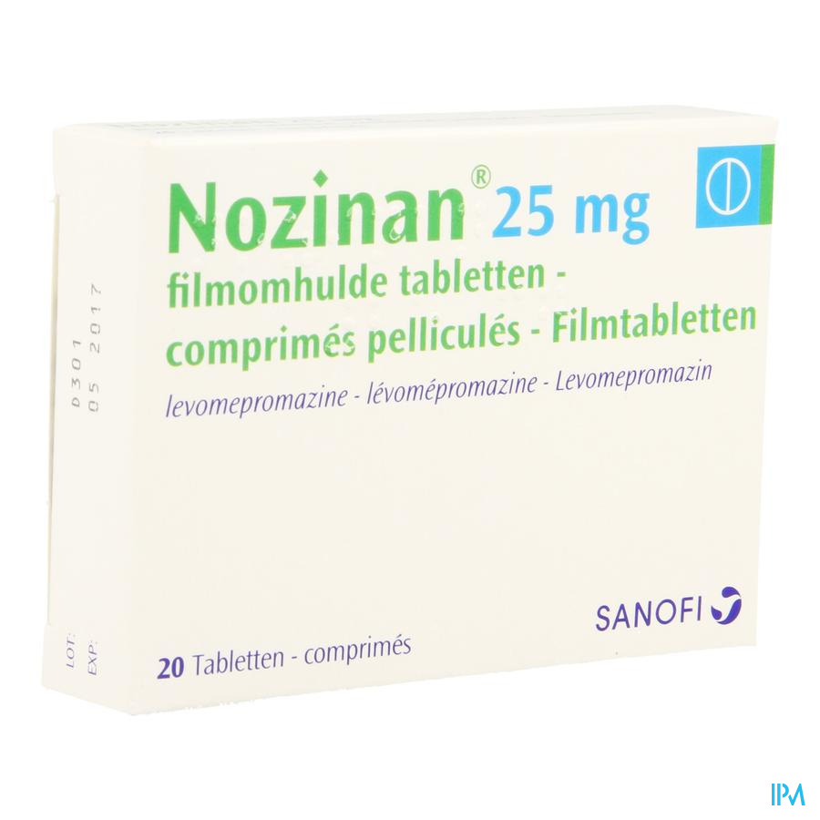 Nozinan Comp 20 X 25mg