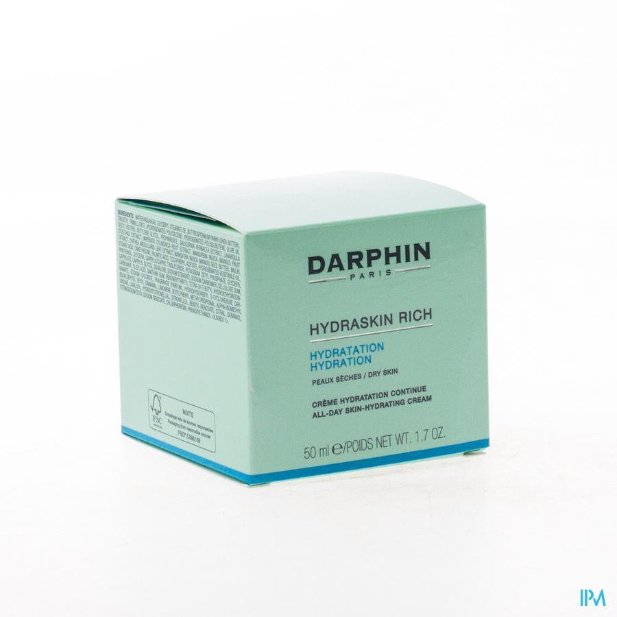 Darphin Hydraskin Creme Verrijkt Nh-dh 50ml D0cn