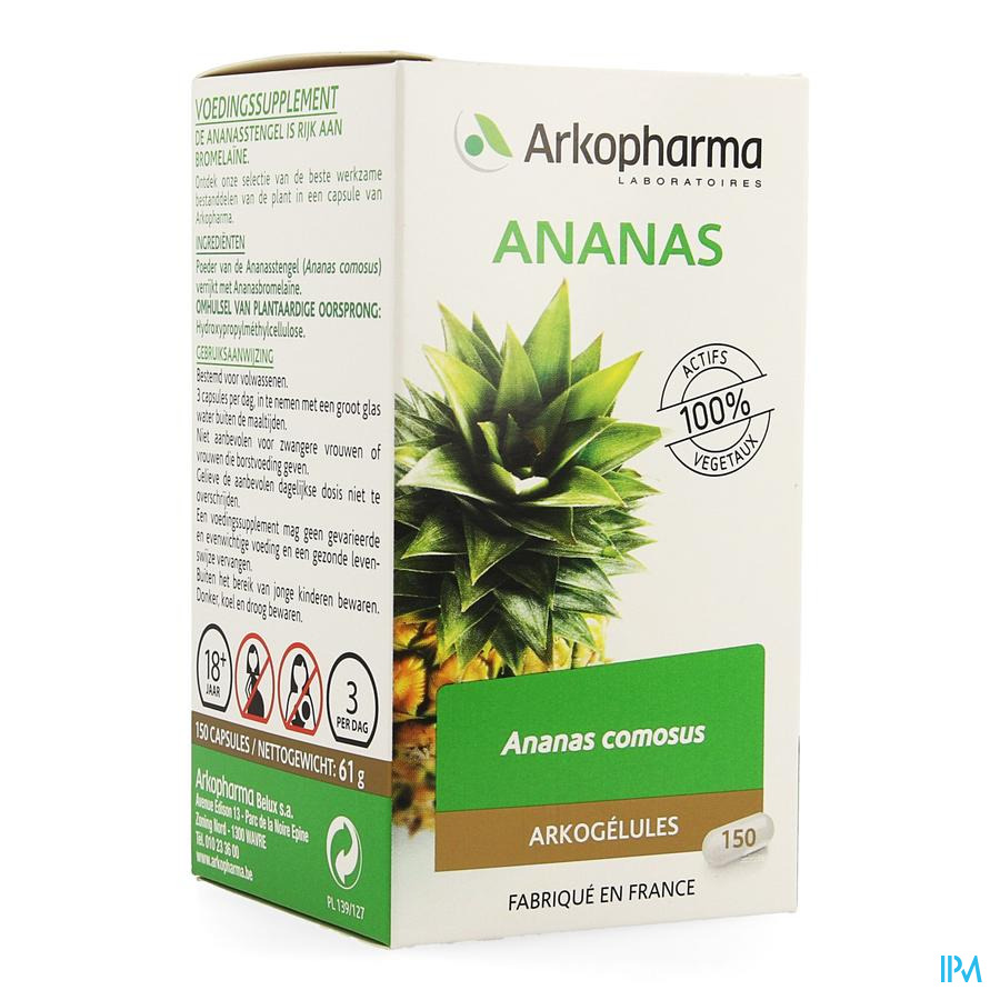 Arkogelules Ananas Vegetal 150