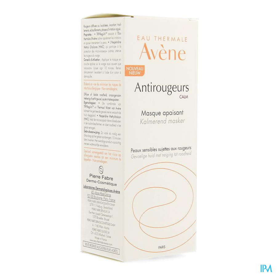 Avene Antirougeurs Calm Nf Masker Verzachtend 50ml