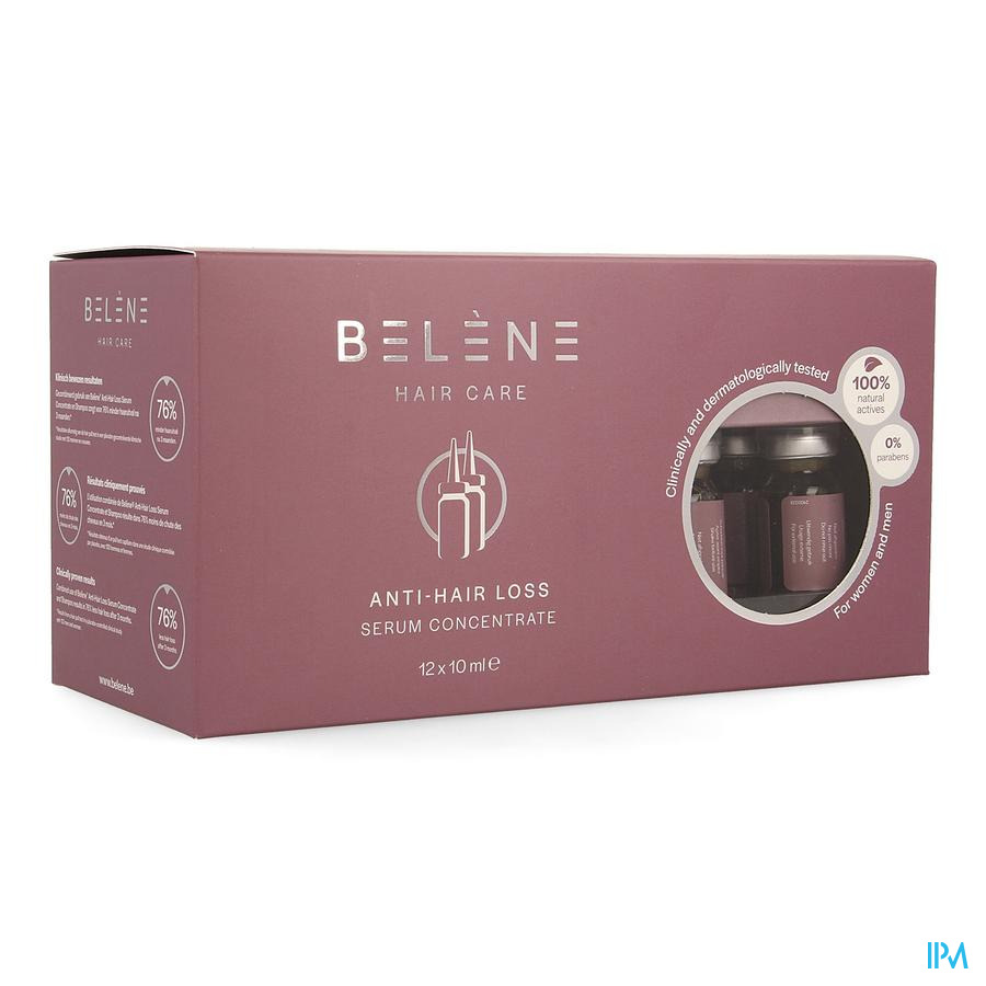 Belene A/hair Loss Serum Concentrate 12x10ml