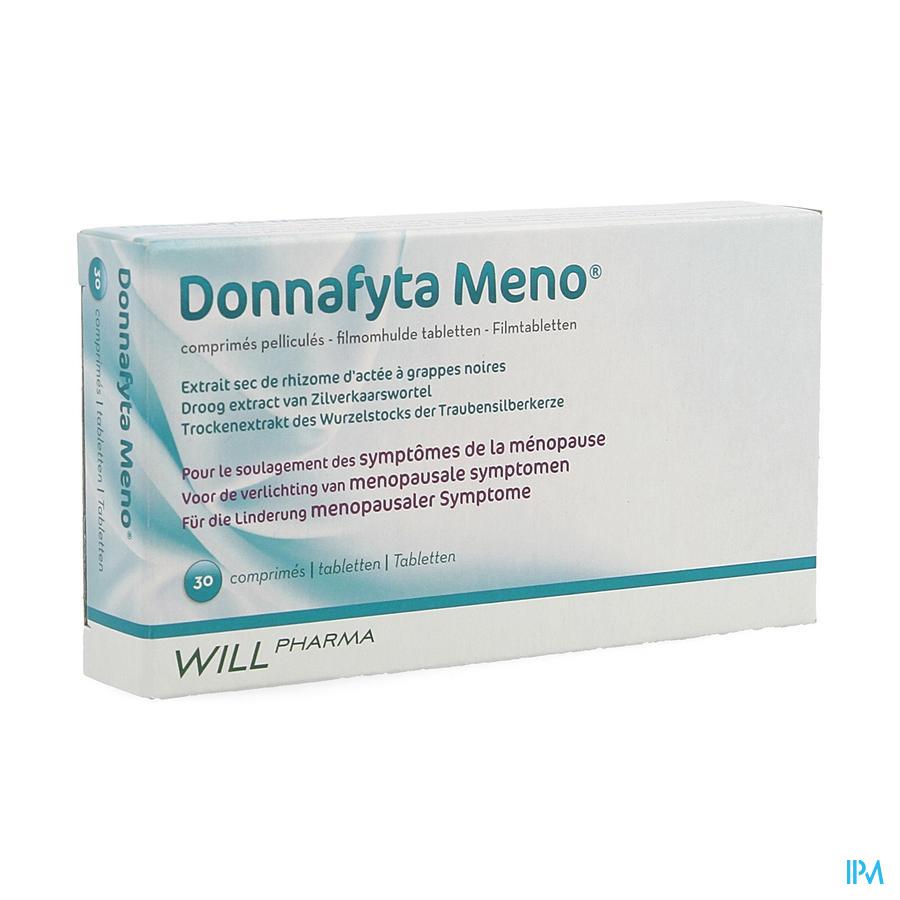 Donnafyta Meno Tabletten 30 X 6,5 mg  -  Will Pharma