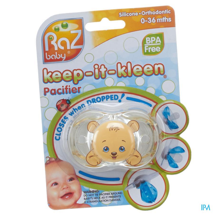 Raz Baby Keep It Clean Fopsp Bobby Bear