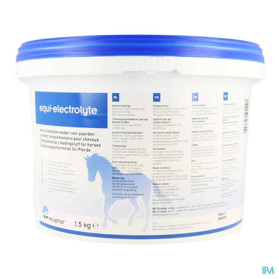 Equi Electrolyte Pdr 1,5kg