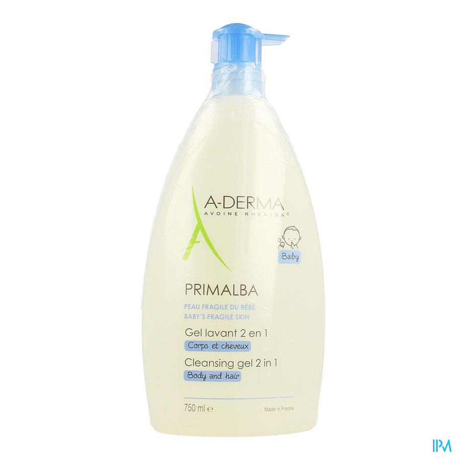 Aderma Primalba Wasgel 2in1 750ml