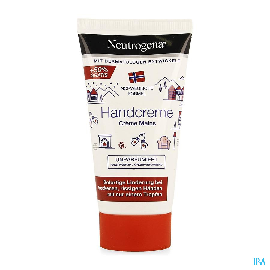 Neutrogena N/f Handcreme Z/parf 50ml + 50% Gratis