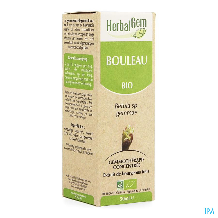 Herbalgem Bouleau Macerat 50ml
