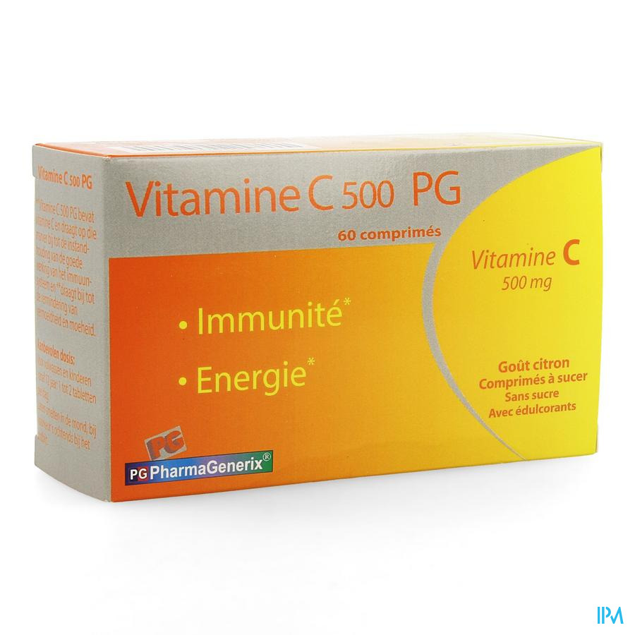 Vitamine C 500 Pg Pharmagenerix Comp 60