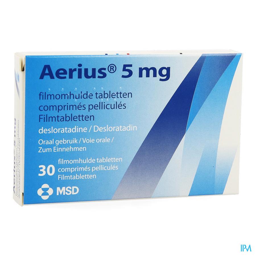 Aerius Comprimés 30 X 5 mg