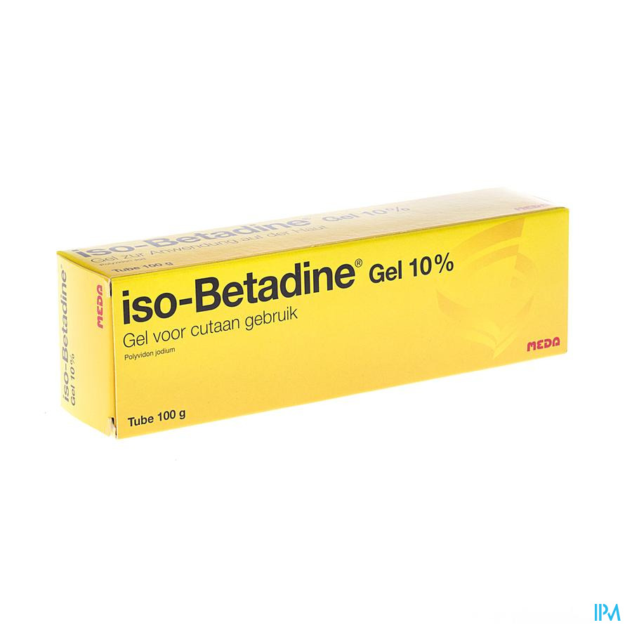 Iso Betadine Gel Tube 100g
