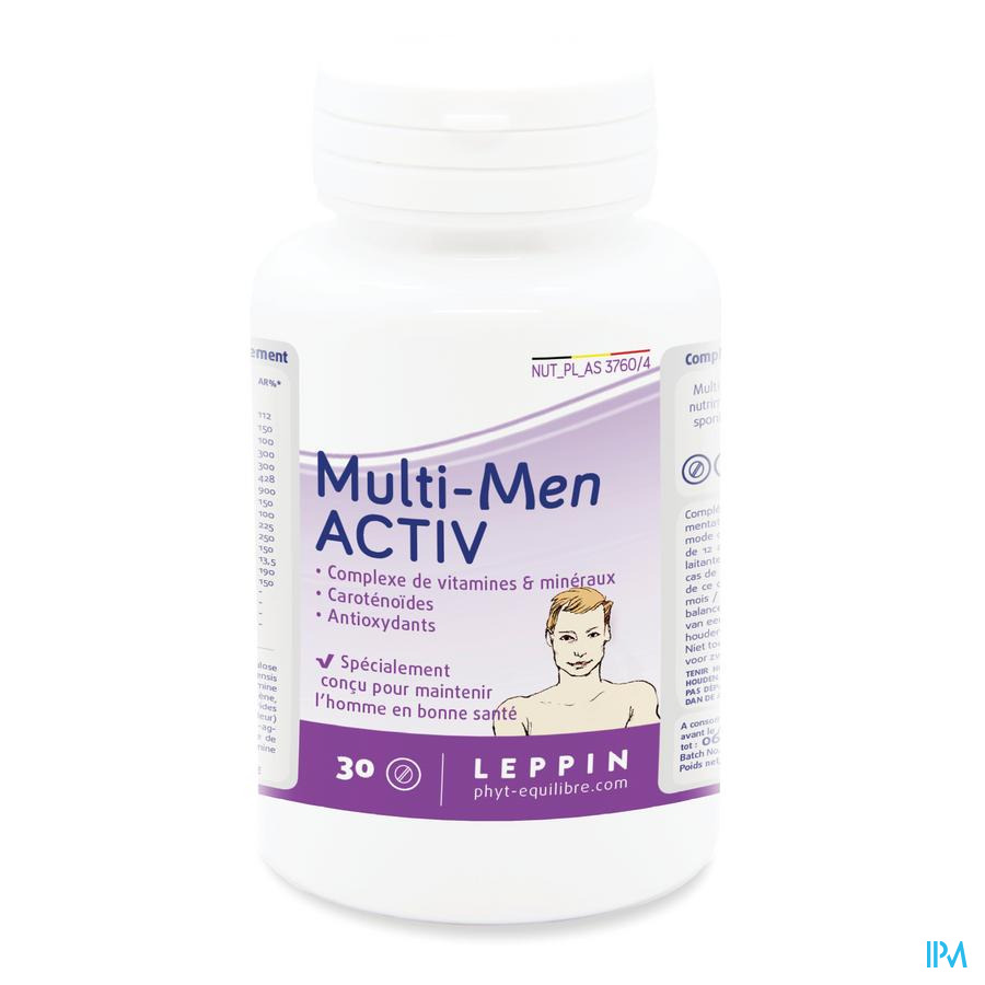 Leppin Multi Men Activ Pot Comp 30
